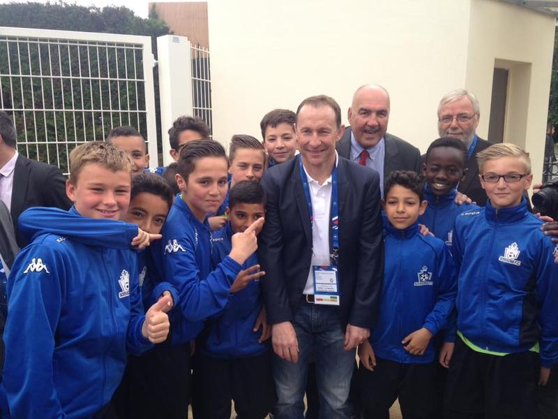 0516 Inauguration stade Papin Soissons